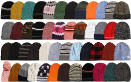 Yacht & Smith Winter Hat Beanies For Adults, Mixed Color Assortment, Unisex