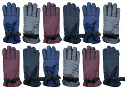 Yacht & Smith Women's Winter Warm Waterproof Ski Gloves, One Size Fits All 12 pack