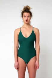 Yacht & Smith Womens Fashion One Piece Bathing Suit Size X Large