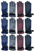 Yacht & Smith Women's Winter Warm Waterproof Ski Gloves, One Size Fits All BULK PACK 36 pack