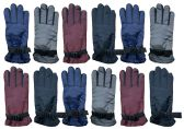 12 Pack of excell Womens Winter Warm Waterproof Ski Gloves, One Size Fits All