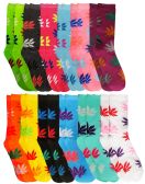 Yacht & Smith Ladies Thin Cotton Marijuana Weed Crew Socks, Size 9-11