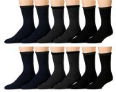 Yacht & Smith Men's Winter Thermal Tube Socks Size 10-13 12 pack