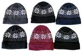 6 Pieces Of excell Mens Heavy Fleece Lined Winter Hat