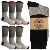 Yacht & Smith Women's Warm Thermal Boot Socks 6 pack