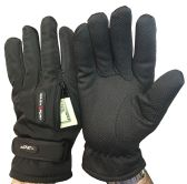 6 Pairs Value Pack of excell Mens Gripper Winter Gloves, Motorcycle Gloves