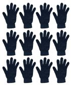 12 Pairs of excell Black Magic Gloves, Mens Womens