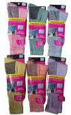 Merino Wool Socks, Unisex Trail Hiking Socks, Warm Camping Backpacking Travel (9-11 (Womens), 6 Pairs Assorted (A))