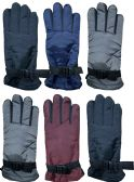 6 Pack of SOCKSNBULK Womens Winter Warm Waterproof Ski Gloves, One Size Fits All