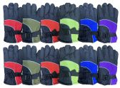 12 Pairs Of Kids excell Thermal Sport Winter Warm Ski Gloves