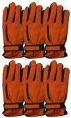 6 Pairs Value Pack of excell Mens Ski Gloves, Hunter Gloves
