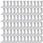72 Pairs of Womens Sports Crew Socks, Wholesale Bulk Pack Athletic Sock, by SOCKSNBULK (Gray, 9-11)