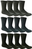 Value Pack of Mens Thermal Winter Sport Socks by Yacht & Smith