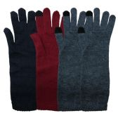 4 Pairs Of excell Touch Screen Winter Gloves, Texting Gloves (C Long Cuff 4 Pack)