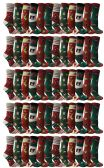 60 Pairs of Christmas Printed Socks, Fun Colorful Festive, Crew, Knee High, Fuzzy, Or Slipper Sock by WSD (Size 9-11)