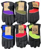 6 Pairs Of Kids excell Thermal Sport Winter Warm Ski Gloves