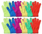 Yacht & Smith Mens Womens, Warm And Stretchy Winter Gloves (12 Pairs Assorted)