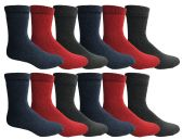 Yacht & Smith Women's Warm Thermal Boot Socks BULK PACK 36 pack