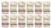 Yacht & Smith Kids Cotton Tube Socks White With Stripes Size 4-6 BULK PACK