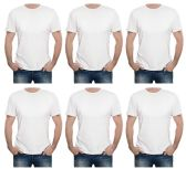 SOCKSNBULK Mens Cotton Crew Neck Short Sleeve T-Shirts Mix Colors Bulk Pack Value Deal (12 pack White, XXX-Large)