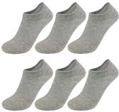 Yacht & Smith Women's No-Show Ankle Socks Size 9-11 Gray 12 pack
