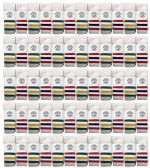 Yacht & Smith Kids Cotton Tube Socks White With Stripes Size 4-6 12 pack