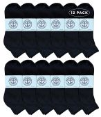 Yacht & Smith Mens Wholesale Mid Ankle Socks, Cotton Sport Athletic Ankle Socks