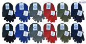 Yacht & Smith Wholesale Kids Beanie and Glove Sets (Beanie Glove Set, 24)