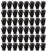 Yacht & Smith Unisex Black Magic Gloves 48 pack