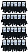 Yacht & Smith Unisex Black Magic Gloves 24 pack