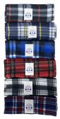 Yacht & Smith Plaid Color Warm Winter Fleece Scarves 36 pack