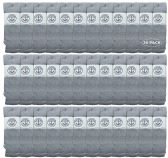 Yacht & Smith 22 Inch Wholesale Men's Long Tube Socks, Cotton 22 Inch Sport Tube Socks Size 10-54 36 pack