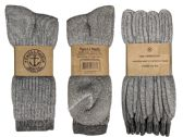 Yacht & Smith Terry Lined Merino Wool Thermal Boot Socks For Men And Woman Mix 240 pack