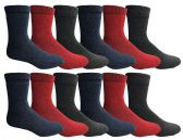 SOCKNBULK Women's Thermal Winter Warm Socks, Sock Size 9-11