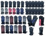 Yacht & Smith 72 Mens 72 Womens 72 Kids Gripper Ski Glove Mix, Unisex Bundle 216 pack