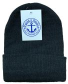 Yacht & Smith Black Unisex Winter Warm Beanie Hats, Cold Resistant Winter Hat 144 Pack 144 pack
