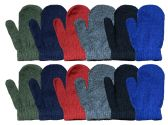 Yacht & Smith Kids Warm Winter Colorful Magic Stretch Mittens Age 2-5 240 Pairs 240 pack