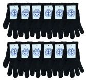 Yacht & Smith Unisex Black Magic Gloves 240 Pairs 240 pack
