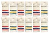 Yacht & Smith Unisex Children's Cotton Tube Socks Size 6-8